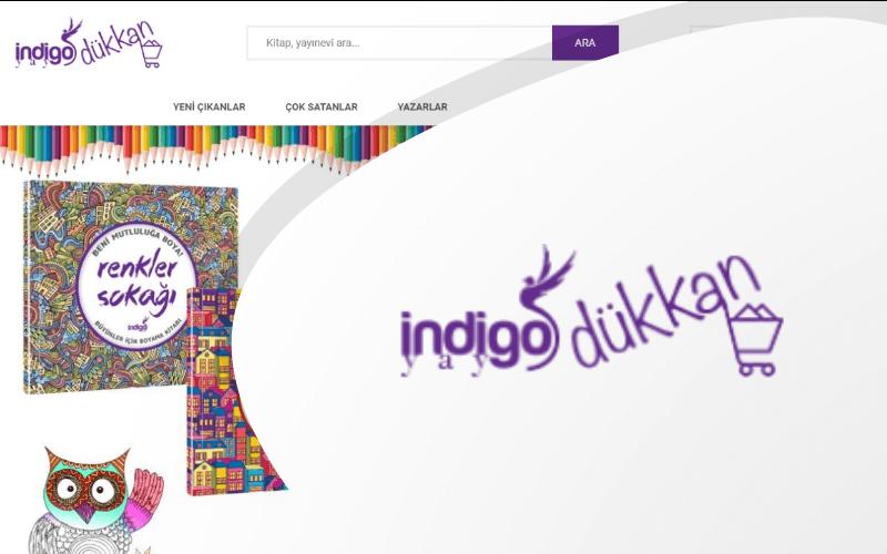 İndigo Dükkan E-ticaret Sitesi