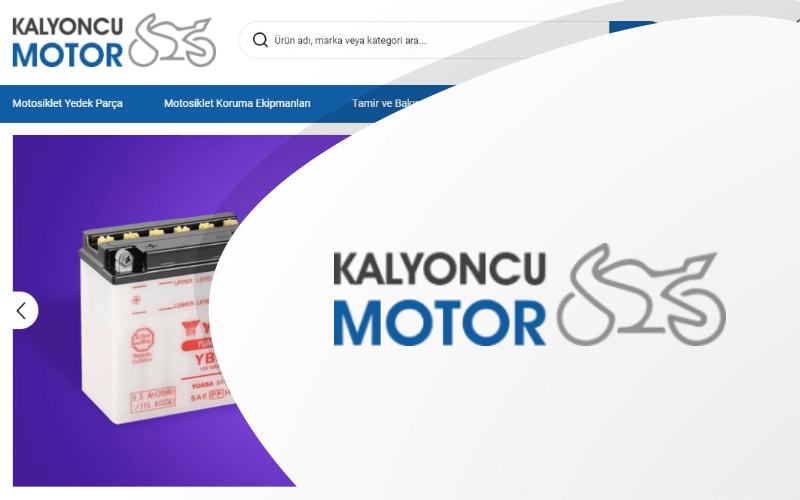 Kalyoncu Motor E-ticaret Sitesi