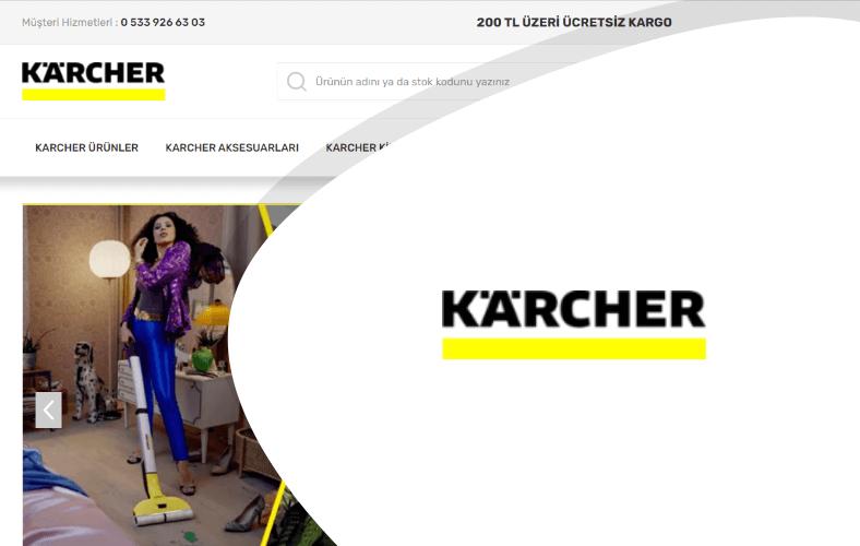 Karcher E-ticaret Sitesi