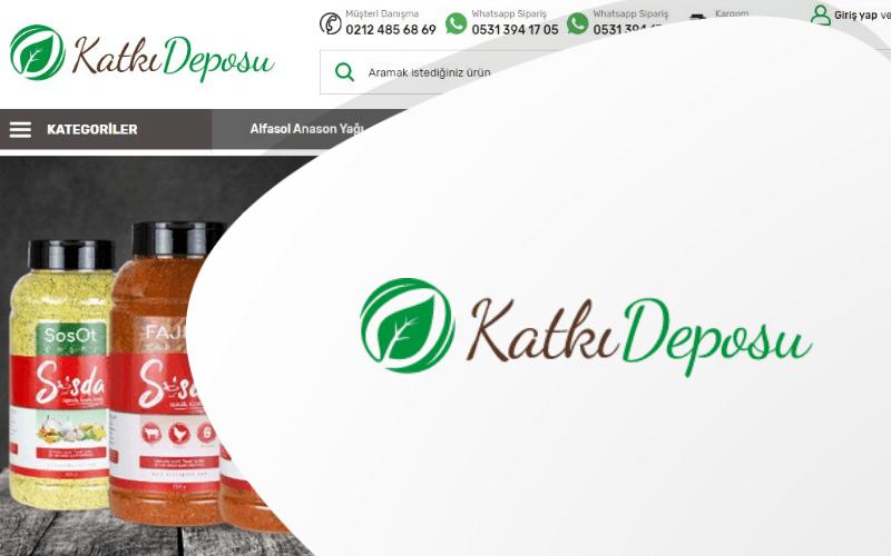 Katkı Deposu E-ticaret Sitesi