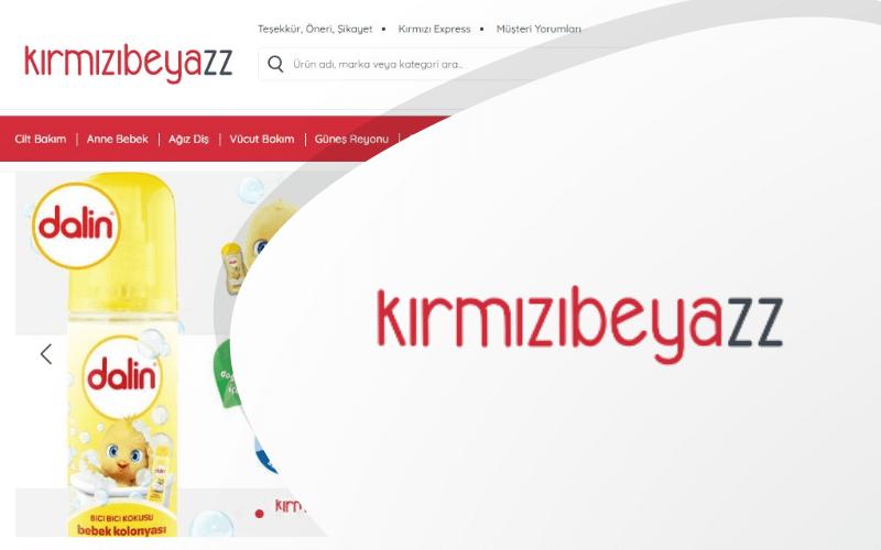 Kırmızıbeyazz E-ticaret Sitesi