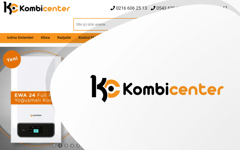 Kombi Center E-ticaret Sitesi