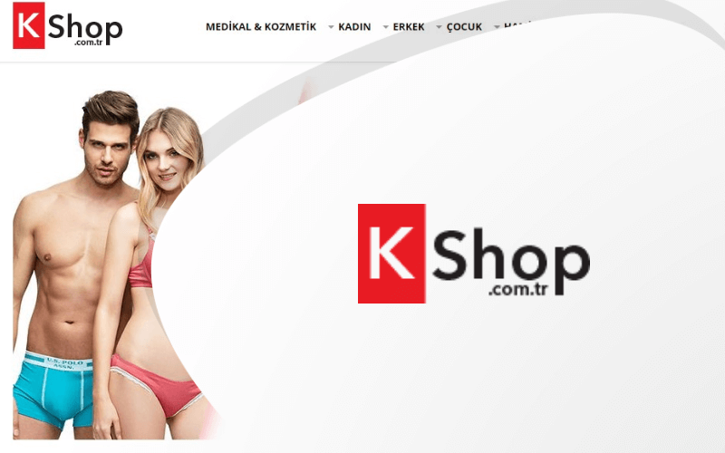 Kshop E-ticaret Sitesi