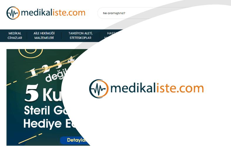 Medikal İste E-ticaret Sitesi