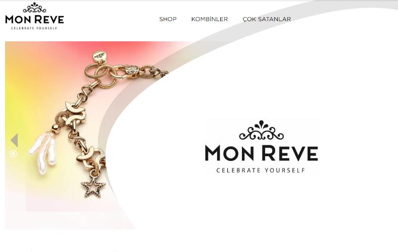 Mon Reve E-ticaret Sitesi