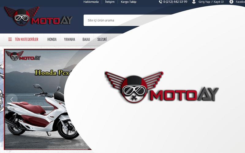 Moto Ay E-ticaret Sitesi