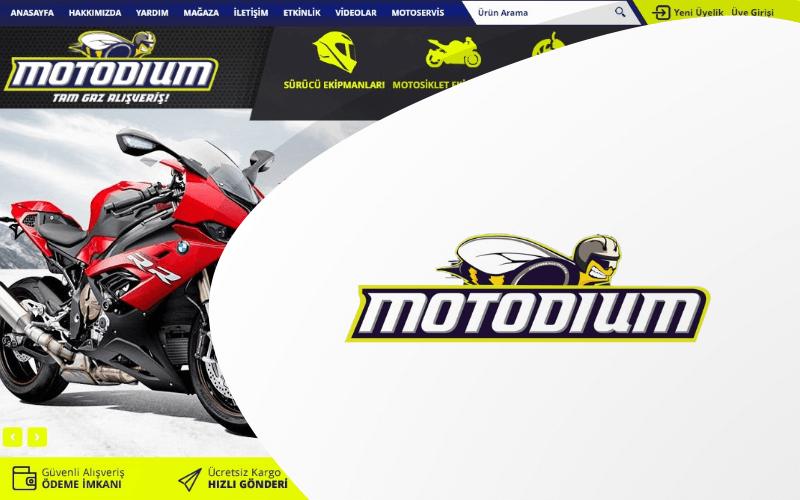 Motodium E-ticaret Sitesi