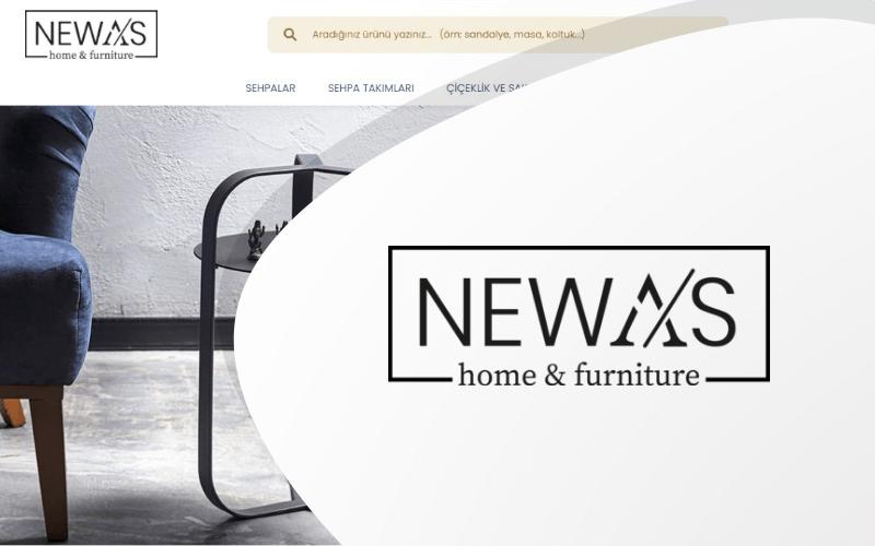 Newas Mobilya E-ticaret Sitesi