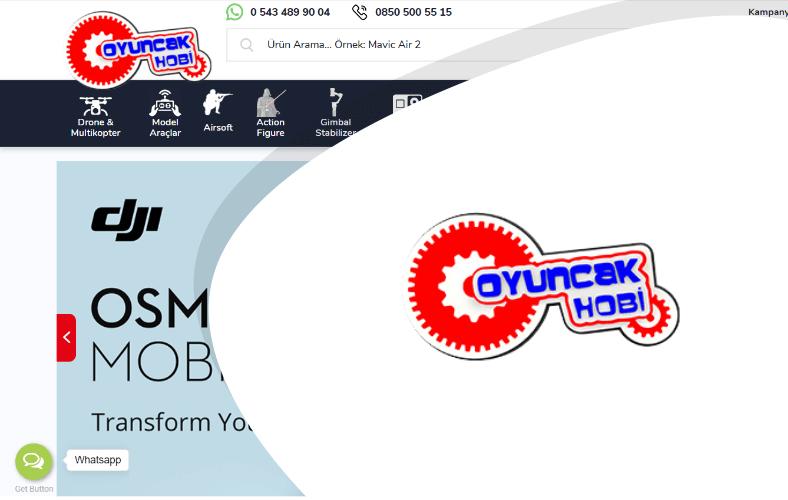 Oyuncak Hobi E-ticaret Sitesi