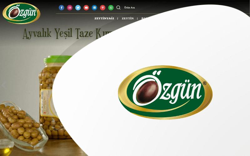 Özgün Zeytin E-ticaret Sitesi