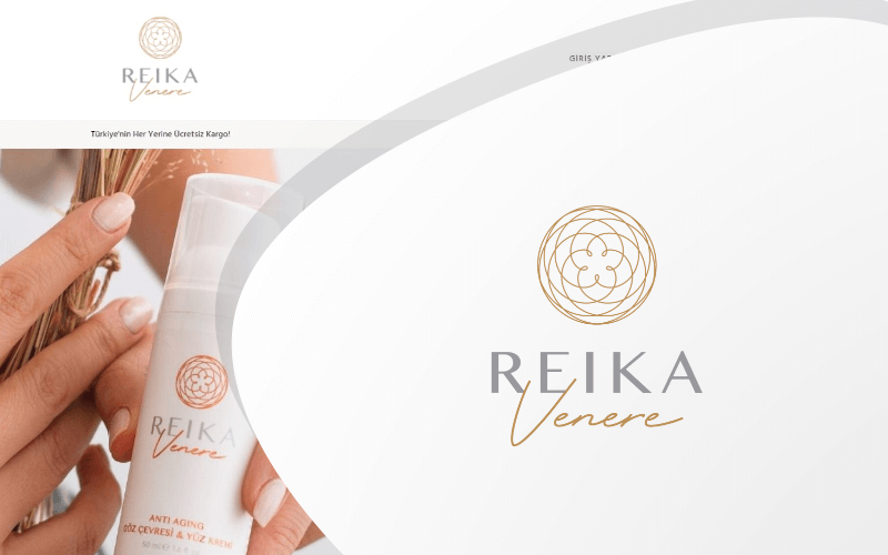 Reika Venere E-ticaret Sitesi