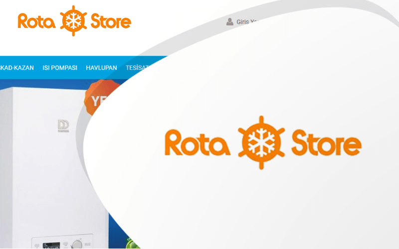 Rota Store E-ticaret Sitesi