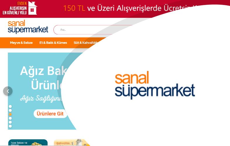 Sanal Süpermarket E-ticaret Sitesi