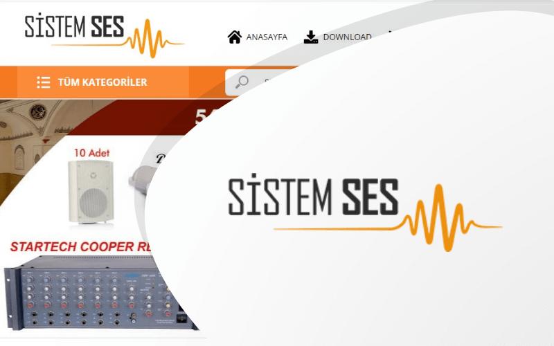 Sistem Ses E-ticaret Sitesi