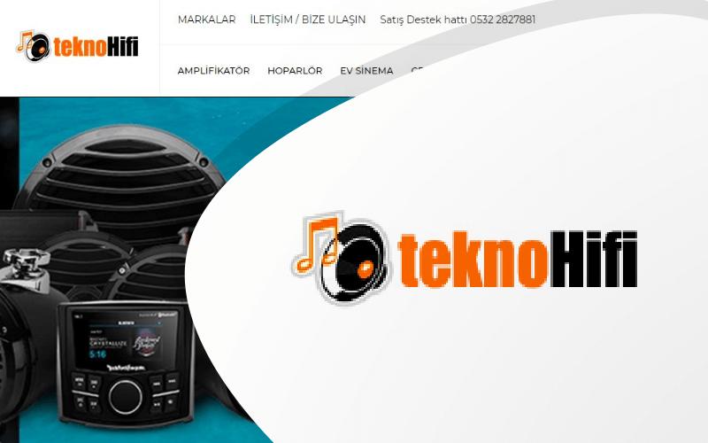 TeknoHifi E-ticaret Sitesi