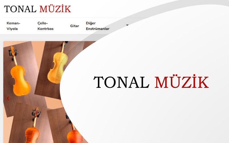 Tonal Müzik E-ticaret Sitesi
