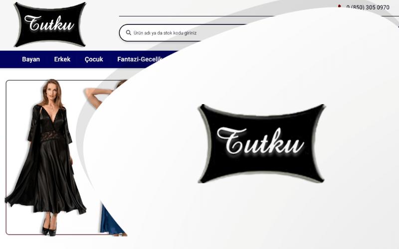 Tutku İç Giyim E-ticaret Sitesi