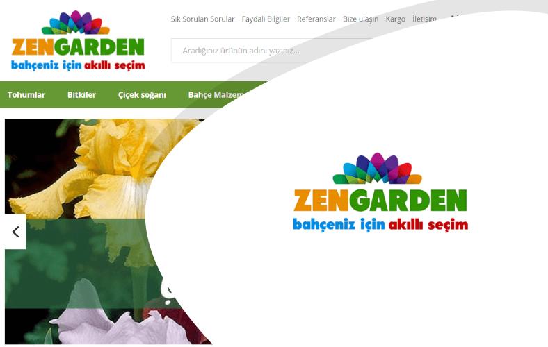 Zen Garden E-ticaret Sitesi