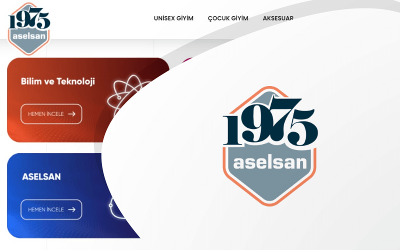 Aselsan E-ticaret Sitesi