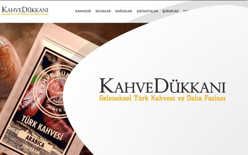 Kahve Dükkanı E-ticaret Sitesi