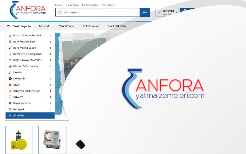 Anfora E-ticaret Sitesi