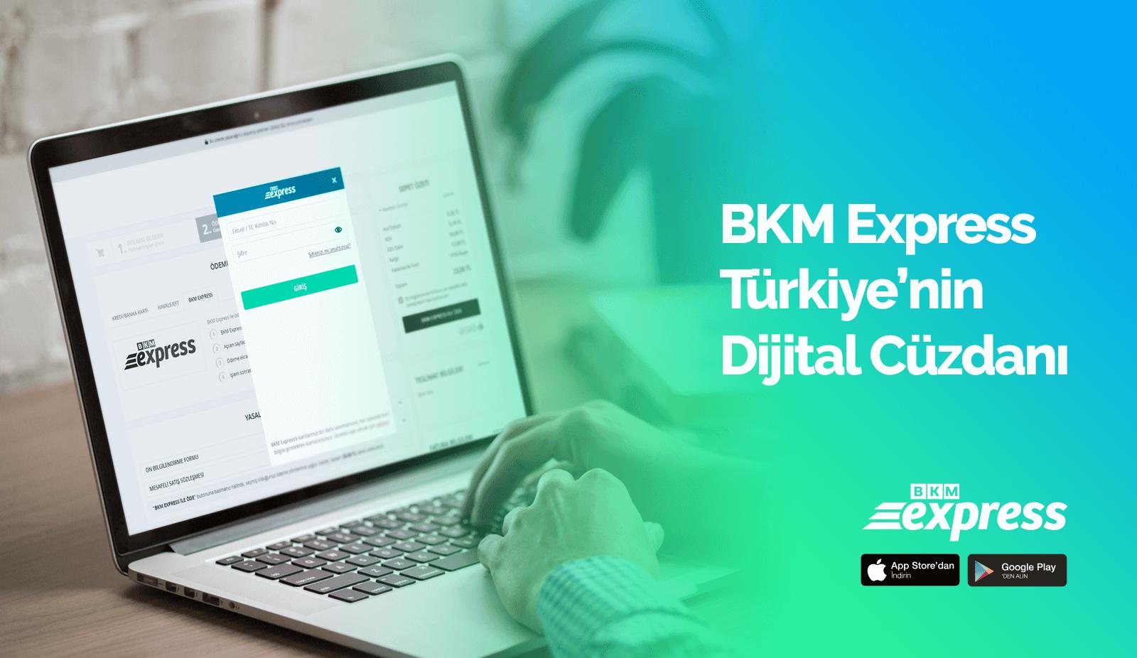 BKM Express Logo