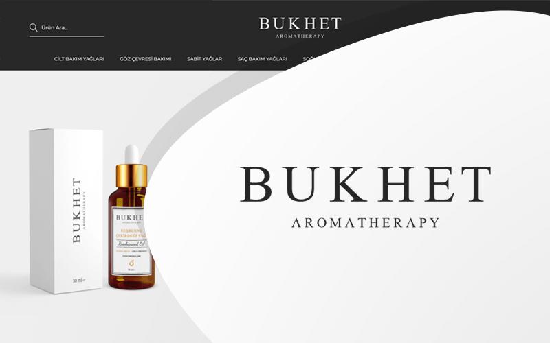 Bukhet Aromatherapy E-ticaret Sitesi