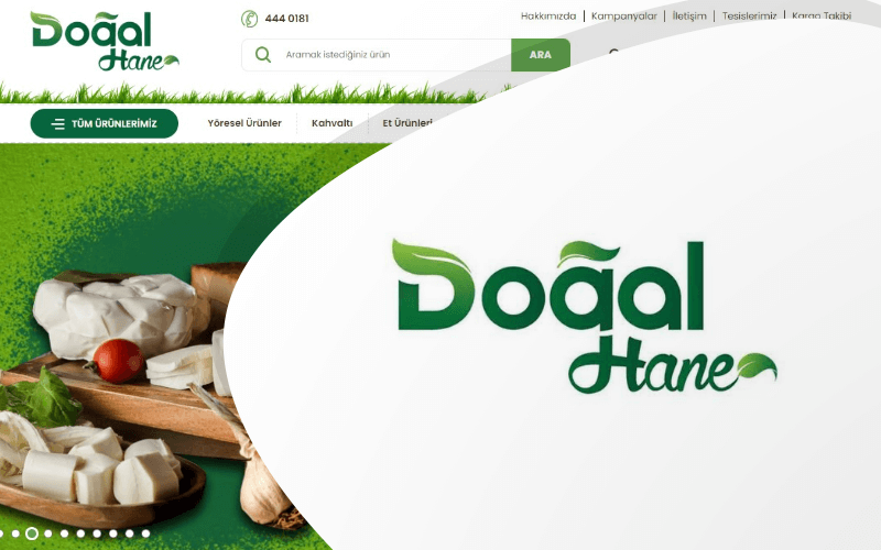 Doğal Hane E-ticaret Sitesi