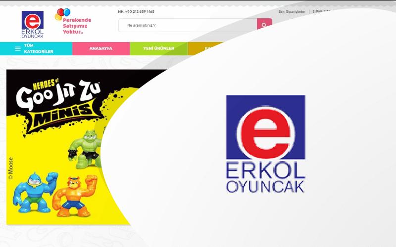 Erkol Oyuncak E-ticaret Sitesi
