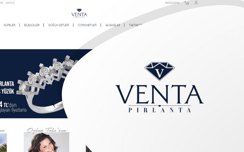 Venta Pırlanta E-ticaret Sitesi