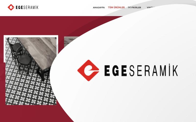 Ege Seramik E-ticaret Sitesi