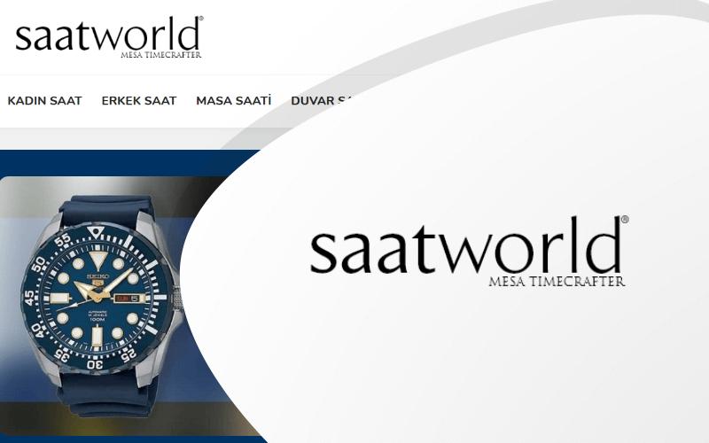 Saat World E-ticaret Sitesi