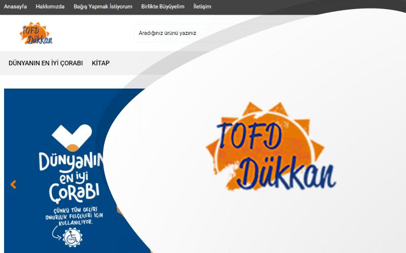 Tofd Dükkan E-ticaret Sitesi