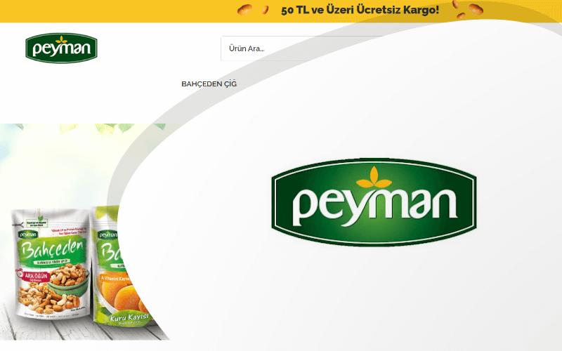 Peyman E-ticaret Sitesi